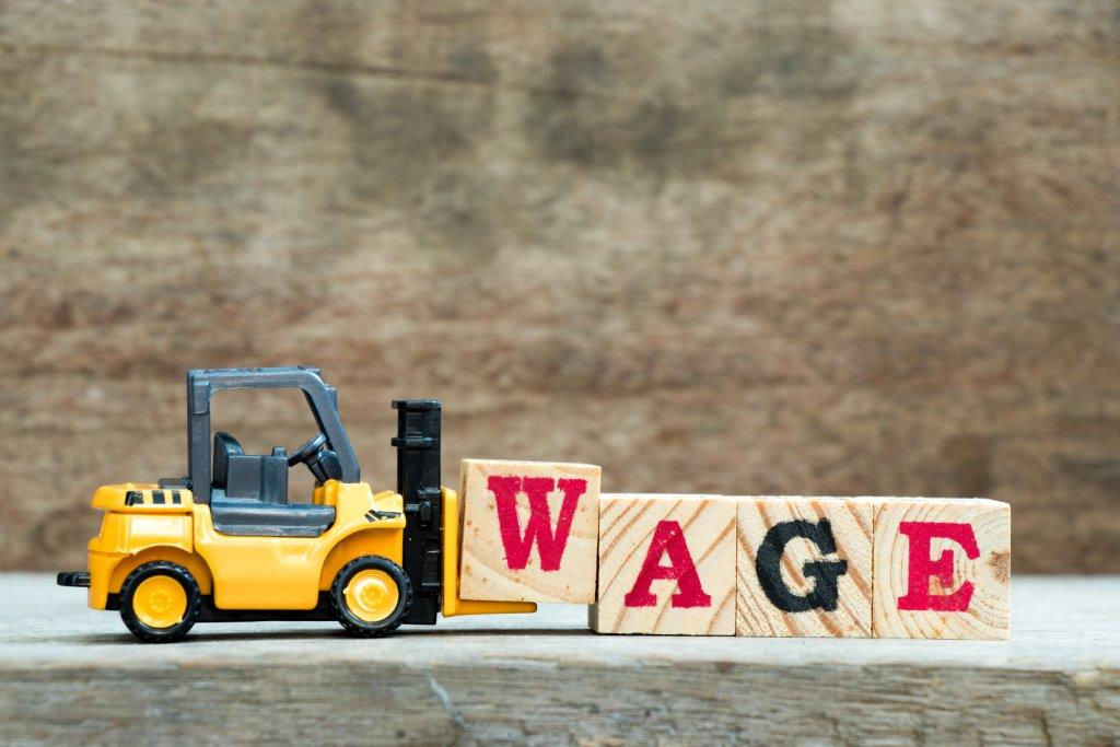 Changes to wages from April 2019